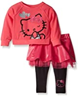 Hello Kitty Baby Girls' 2pc Tee and Leggings Set