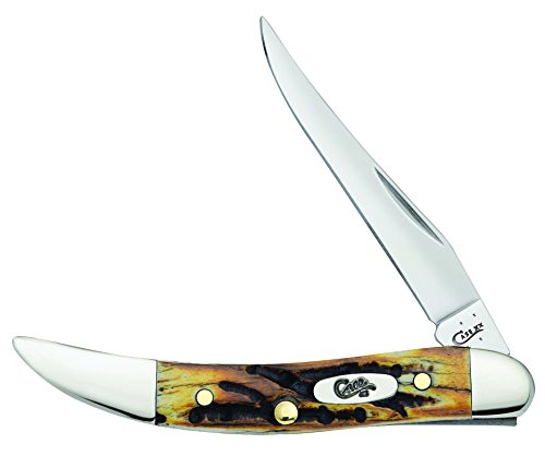 Case 5532 Genuine Stag - Small Texas Toothpick (510096 SS)