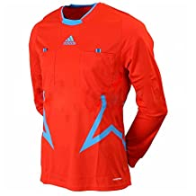 Adidas Mens Referee FM UCL Orange Long Sleeve Jersey Top