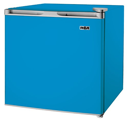 affordable 1.6-1.7 Cubic Foot Fridge, Blue