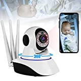 Video Baby Monitor with Camera and Audio,1080P Wifi Indoor Home
