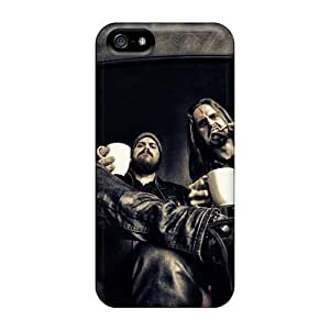 Shock Absorption Hard Cell-phone Cases For Iphone 5/5s With Unique Design Attractive Dissection Band Series KennethKaczmarek