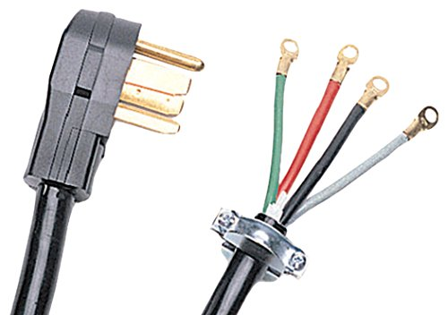 Price comparison product image Certified Appliance 90-2028 4-wire Dryer Cord (10ft)