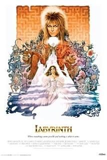 DAVID BOWIE - LABYRINTH MOVIE POSTER - Fantasy