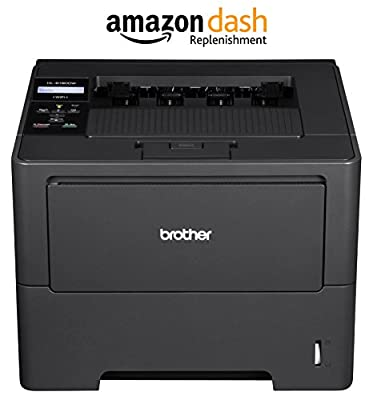Brother Printer HL6180DW Wireless Monochrome Printer, Amazon Dash Replenishment Enabled