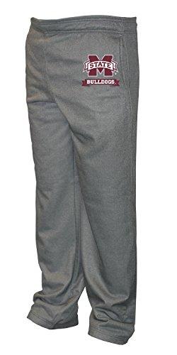 Old Varsity Brand NCAA Mississippi State Bulldogs Big Men's Poly Fleece Pants, X-Large/Tall, Dark -