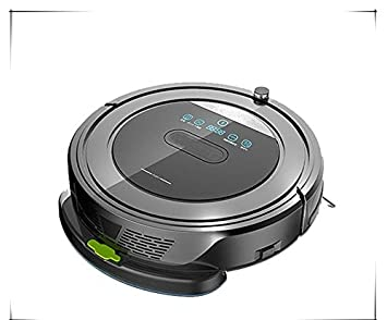 Deluxe Robot Aspirador Programable 4 En 1 Barre Friega Aspira Abrillanta Base de Carga: Amazon.es: Hogar