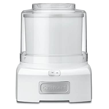 Cuisinart ICE-21 1.5 Quart Frozen Yogurt-Ice Cream Maker (White)