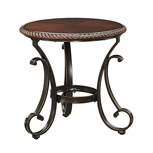 Ashley Furniture Signature Design - Gambrey Round End Table