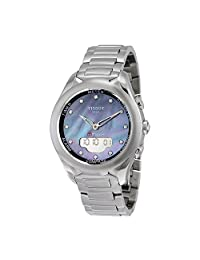Tissot T-Touch Lady Solar Mother of Pearl Diamond Dial Watch T0752201110601