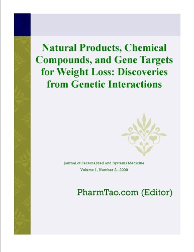 Download Natural Products, Chemical Compounds, and Gene Targets for Weight Loss: Discoveries from Genetic Interactions (Journal of Personalized and Systems Medicine) Pdf