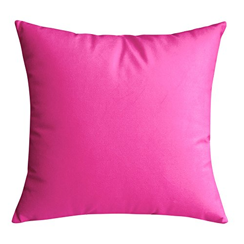 POPRY Pelo corto, almohada de color puro, sencillo y moderno ...