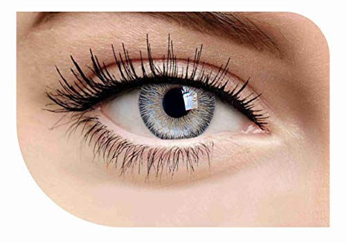 Case for Color Contact Eye Lenses FreshGo Cosmetic Makeup Lens Last 1 Month Design 524 (Colored Freshlook Lenses Contact)
