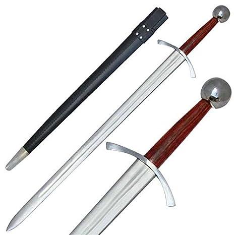 Amazon.com: Valiant Arqueros Medieval Guerra Arming espada ...