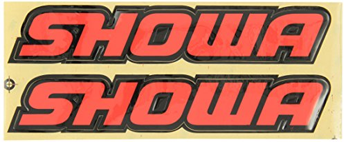 (Factory Effex 02-7049 Flo Red 'Showa' Universal Swing Arm Sticker)