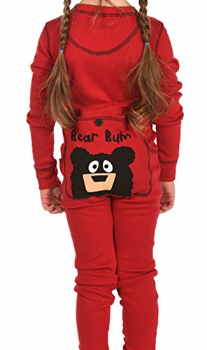 Children's LazyOne Bear Bum Onesie Pajamas