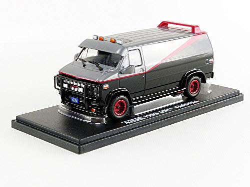 Greenlight Collectibles - 86515 - GMC VANDURA 1983 from A-Team Tv Movie 12cm Scale 1/43 - DieCast Model from Greenlight