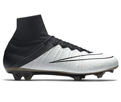 black Superfly Lthr Pour Bone Mercurial De Chaussures Nike Hommes light Black Football Noir Fg E5OFwq