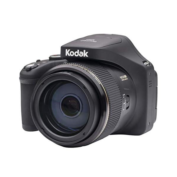 RetinaPix Kodak PIXPRO Astro Zoom AZ901-BK 20MP Digital Camera with 90X Optical Zoom
