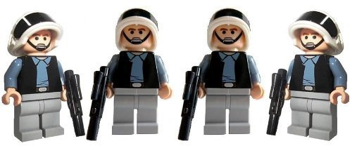 Rebel Trooper Army (4) - LEGO Star Wars