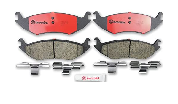 BREMBO Premium Ceramic Disc Brake Pads Set FRONT P18013N