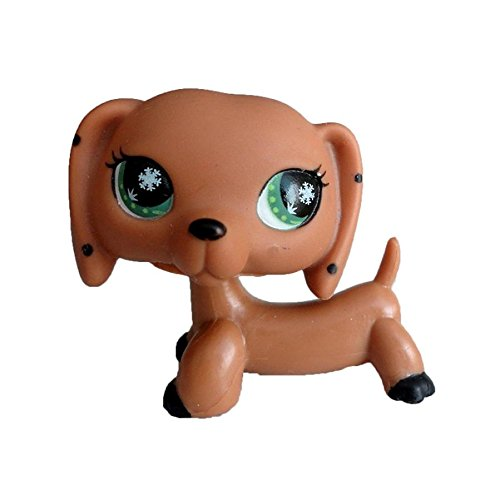 Cocker Spaniel Dachshund - Vibola Action Figure Toy Animal Cartoon Collie Dog Dolls Rare Little Pet for Kids Gift