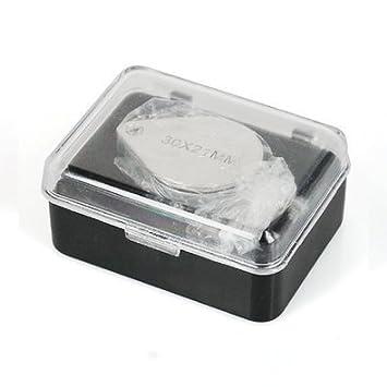 KIMILAR Gioiellerie ed oreficerie Loupe 30 x 21mm vetro gioielli antiquariato Hallmark occhio lente