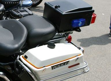 Mustang Textured Police Air-Ride Rear Seat 79436