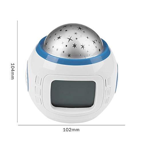 GGLLBL123 Exquisito Reloj Despertador Digital LED Reloj ...