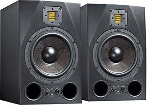 Adam Audio A8X 2-way 8.5 inch Studio Monitor Pair by Adam Audio