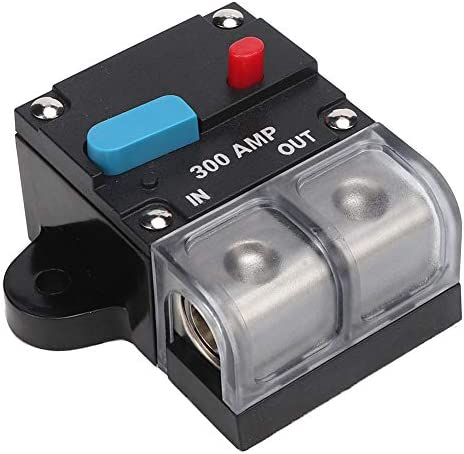 Suuonee Automatic circuit breaker, 80A-300A Automatic resettable circuit breaker Self-resetting fuse Manual reset button 300A