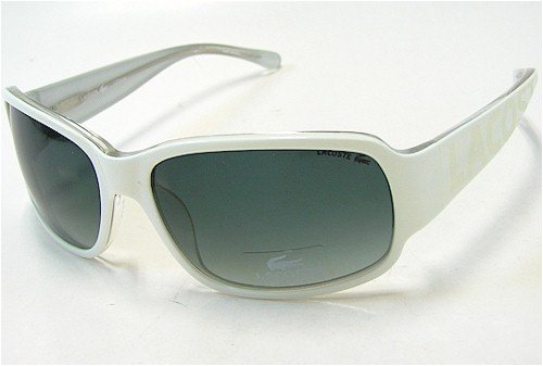 14bdca47d6f LACOSTE LA12632 Sunglasses LA-12632 WH White Shades  Amazon.co.uk  Clothing