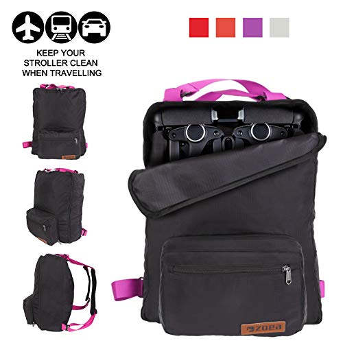Great Features Of ZOEA Lightweight Stroller Travel Bag, Compatible with Gb Pockit Stroller and Gb Po...