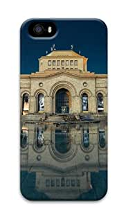 iPhone 5S Cases & Covers - Armenia yerevan building reflection in water Custom Design iPhone 5S/5 Protective Case Cover - Polycarbonate
