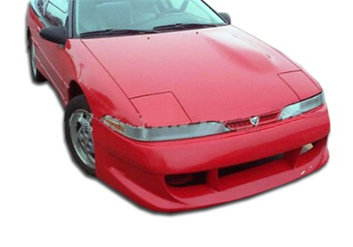Eclipse Bomber Duraflex Front Bumper - 1990-1991 Mitsubishi Eclipse Eagle Talon Duraflex Bomber Front Bumper Cover - 1 Piece (Overstock)