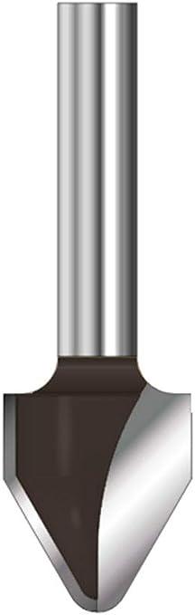 ENT 15964 Gratfr/äser HW Durchmesser Schaft E 14/° A ohne Vorschneider C HM 8 mm 12,7 mm B 12,7 mm D 32 mm