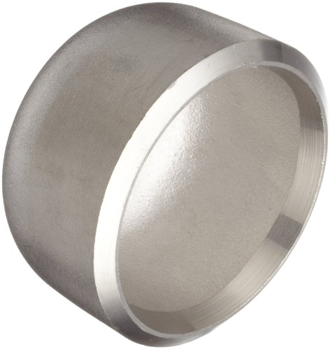 - Stainless Steel 304/304L Butt-Weld Pipe Fitting, Cap, Schedule 40, 3