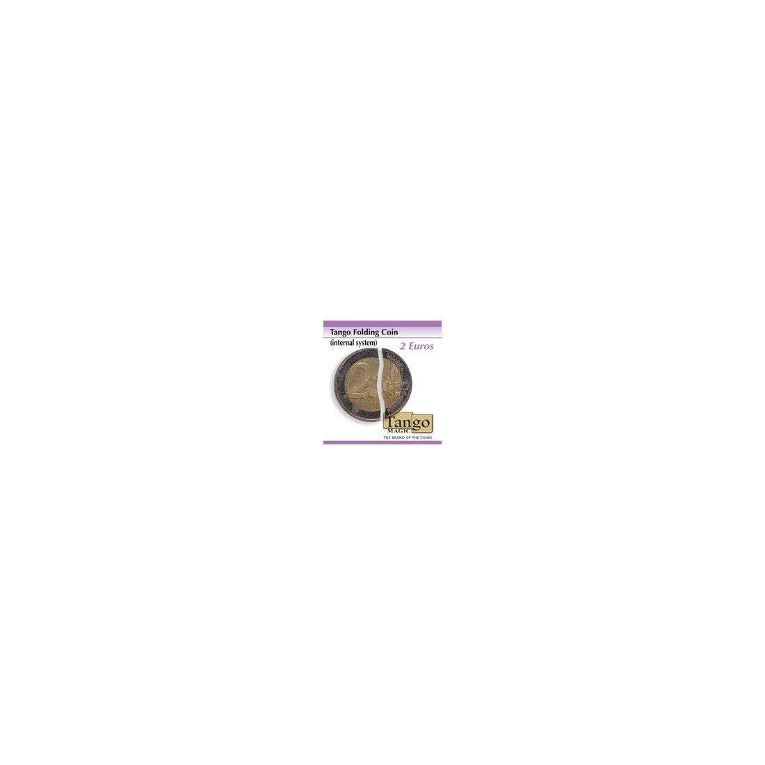 Flipper Coin de 2 Euros (magnétique) Tango Magic TFLIP2EURO 4507