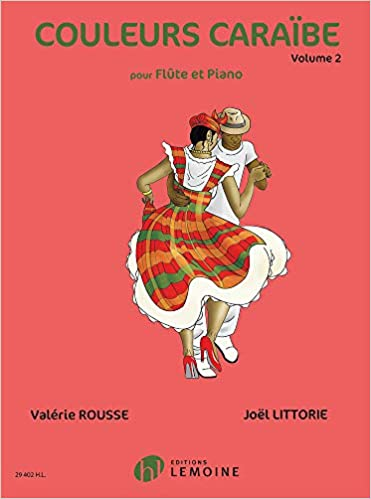 Ebook epub Couleurs Caraïbe Volume 2 (Flute and Piano)