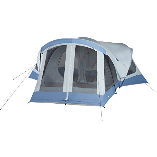 Spacious Multi-Room Ozark Trail 18' x 18' Family Sized 14-Person Tent
