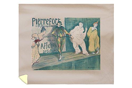 (Pierrefort 12 R Bonaparte - Dessins Tableaux Affiches Artistiques Poster (Artist: Ibels) France 58109 (88x104 King Microfiber Duvet Cover))