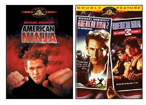 Amazon.com: American Ninja 1 / 2 / 3 (2 Pack): Michael ...