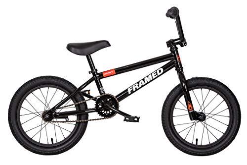 Framed Impact 16 BMX Bike Black/Orange Kids Sz 16in