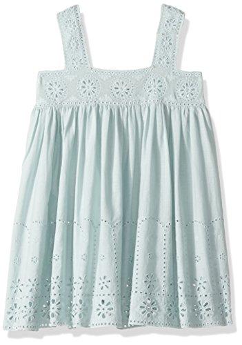 Stella McCartney Kids Girls' Anemone Eyelet Dress, Mint Blue, 3 by Stella McCartney Kids