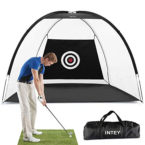 INTEY Golf Net Golf Hitting Nets Training Aids Practice Nets for Backyard Driving Range Chipping with Target Carry Bag