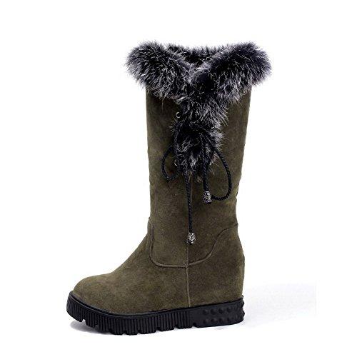 de mujer Para Ladola Caqui Botas nieve 1OqOfF5