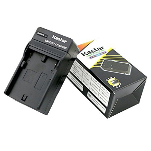 Kastar Travel Charger for Sony NP-FM500H and Sony DSLR-A100, DSLR-A200, DSLR-A300, DSLR-A350, DSLR-A450, DSLR-A500,DSLR- A550, DSLR-A560, DSLR-A580, DSLR-A700, DSLR-A850, DSLR-A900, Alpha SLT A57, A58, A65, A65V, A77, A77V, A77 II, A77M2, A99, A99V,CLM-V55