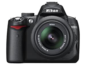 Nikon D5000 12.3 MP DX Digital SLR Camera with 18-55mm f/3.5-5.6G VR Lens and 2.7-inch Vari-angle LCD