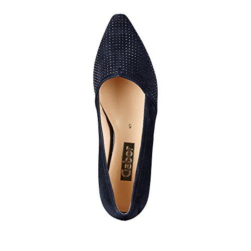 Scarpe Eu Gabor blau Schuhgröße Tacco Farbe 55 1 134 Col 38 6q8wpWEq