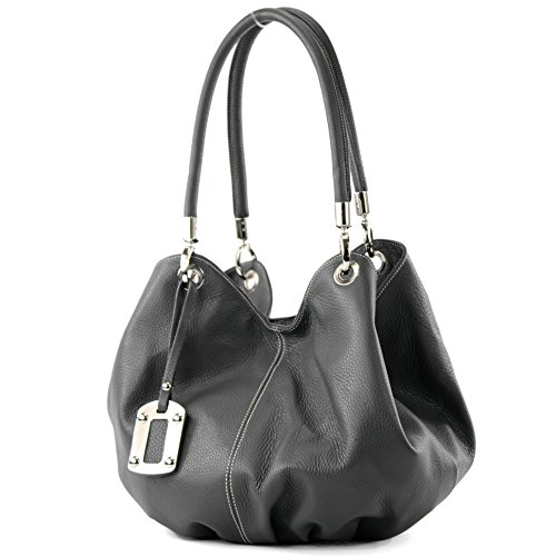 Made Italy , Sac à main pour femme Anthracite Gray